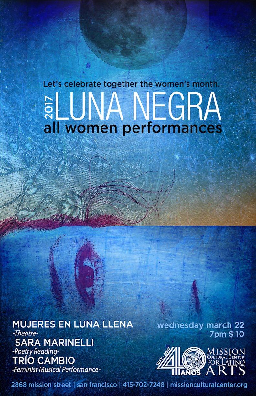 "Featured Reader at ""Luna Negra,"" March 22, 2017"